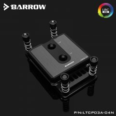 Barrow Composite Edition Micro Jet CPU Waterblock, LRC 2.0 RGB, AMD AM3/AM4 - Black