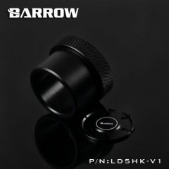 Barrow D5 pump mod kit screw ring top kit - black