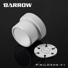 Barrow D5 pump mod kit screw ring top kit - white