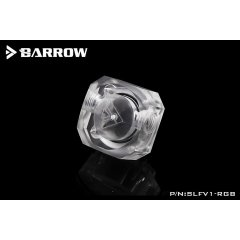 Barrow G1/4 Flow Indicator / Meter with LRC 2.0 RGB Lighting
