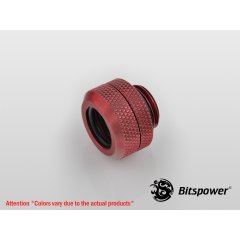 "Bitspower G1/4"" Deep Blood Red Enhance Multi-Link For OD 12MM BP-DBREML"