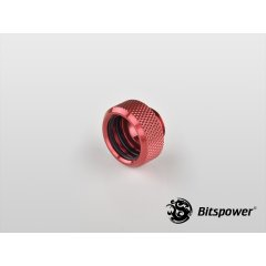 "Bitspower G1/4"" Deep Blood Red Multi-Link For OD 16MM Adapter BP-DBRWP-C89"