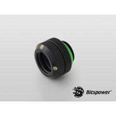 "Bitspower G1/4"" Matt Black Enhance Multi-Link For OD 12MM BP-MBEML"