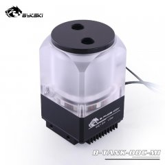 Bykski B-TANK-DDC-MI, mini 450lph PWM pump/reservoir with RGB - black