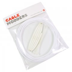 Cable Modders High Density 4mm Braid Sleeving Kit Frozen White - 3m