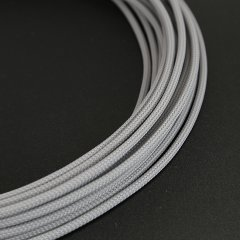 E22 sleeve 4mm PET Teleios – Light Gray (1m)
