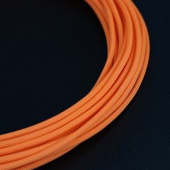E22 sleeve 4mm PET Teleios – Orange (1m)