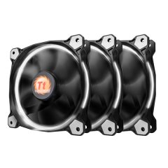 Thermaltake 120mm Riing 12 LED White (3 fan pack)