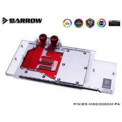 Barrow NVIDIA RTX 3080/3090, MSI TRIO Aurora LRC 2.0 RGB Graphics Card Waterblock