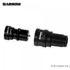 Barrow TZKMF-V2 G1/4 Quick Disconnect Male + Female Set - Black