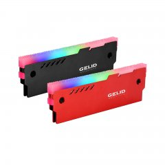 Gelid Lumen RGB RAM Memory Cooling Kit Red